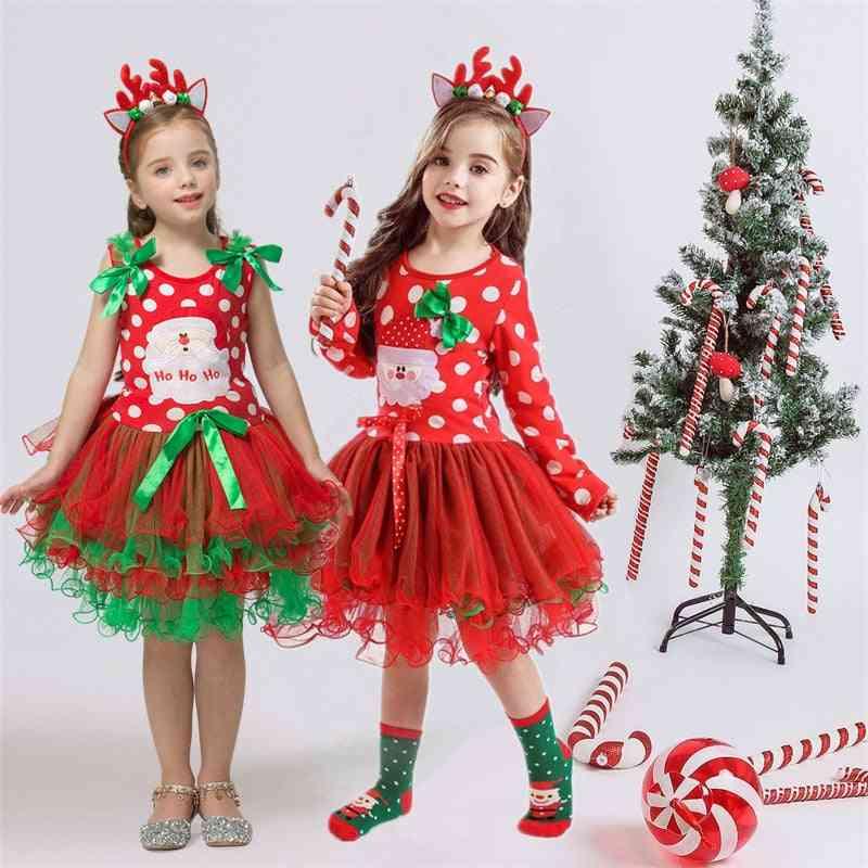 Fancy Baby Girl Carnival Santa Dress