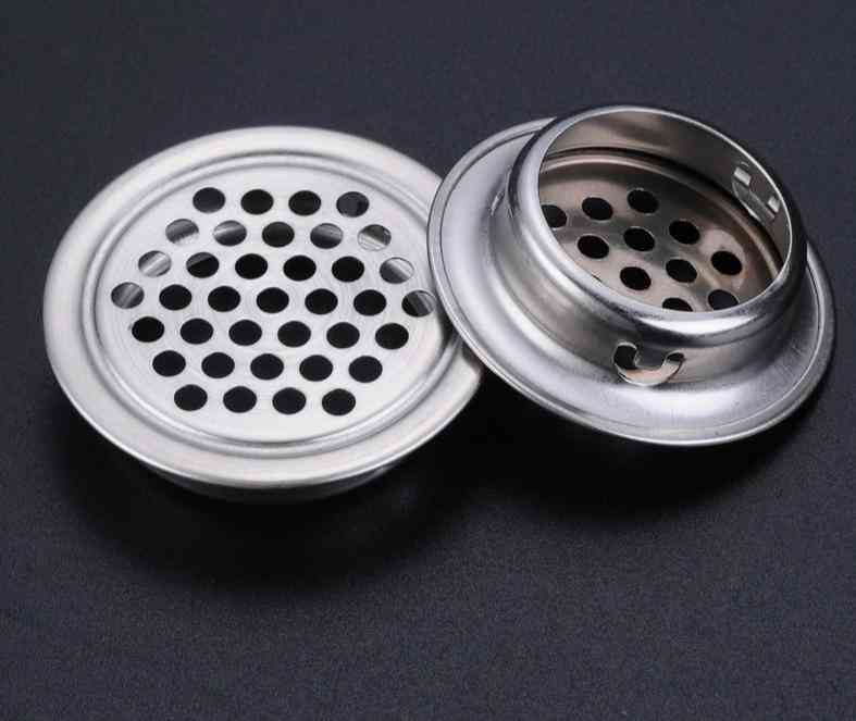 Mesh Hole Air Vent Core - Stainless Steel Louver Ventilation Cover