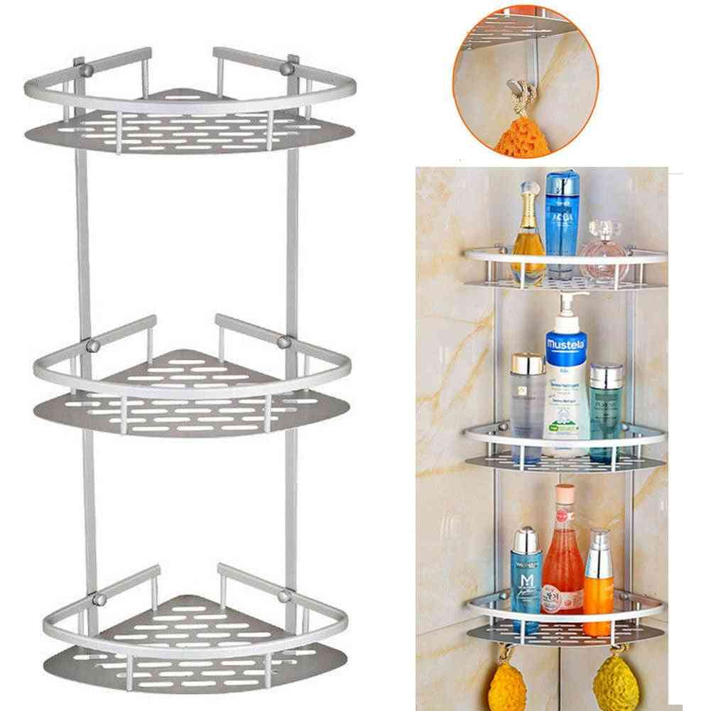 Tier Corner Storage Holder Shelves Rack For Bathroom, Kitchen