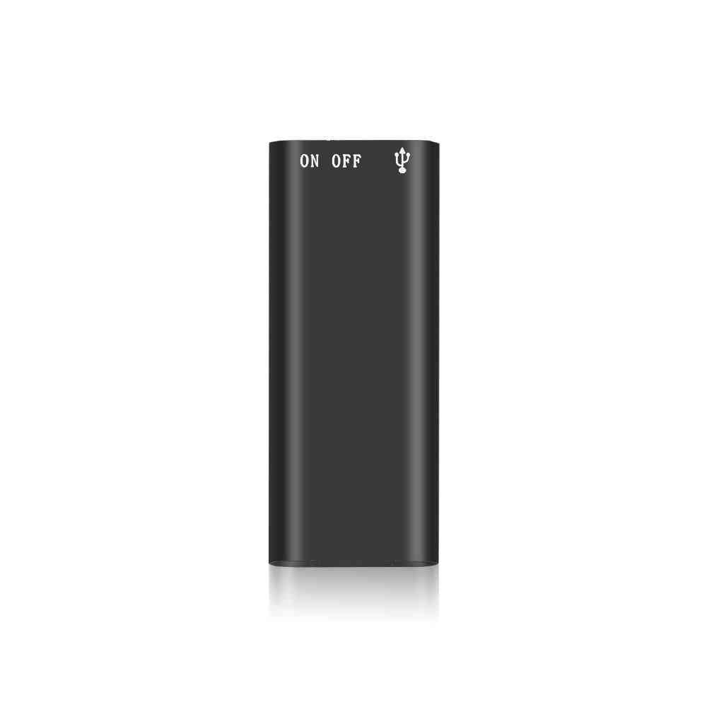 3 In 1, Mini Digital Audio Voice Recorder, Dictaphone With Mp3 Music Player