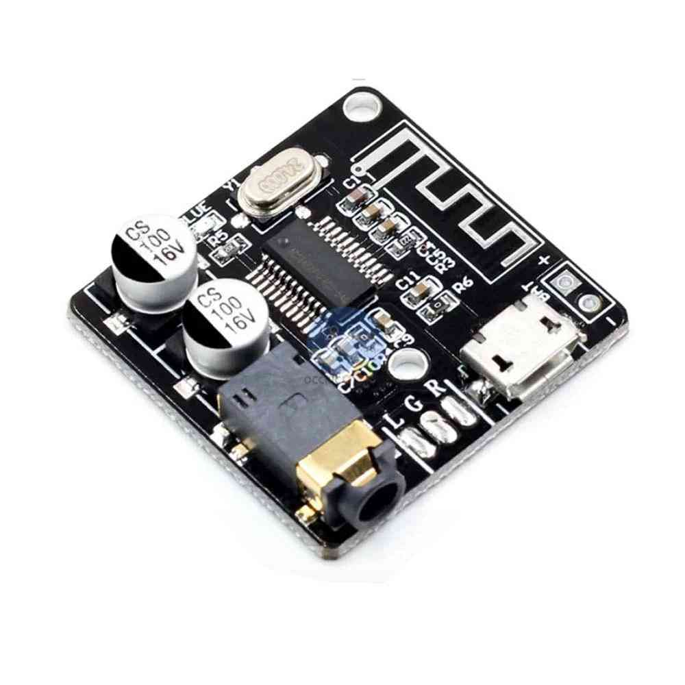 Wireless Mini Bluetooth 5.0 Mp3 Decoder Board, Audio Receiver Mp3 Lossless Player