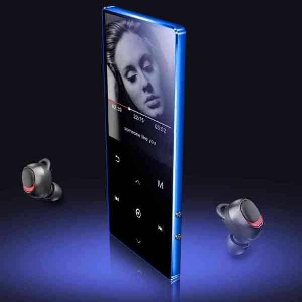 Mp4/ Mp3 Bluetooth  Player, Touch Screen Portable Tv