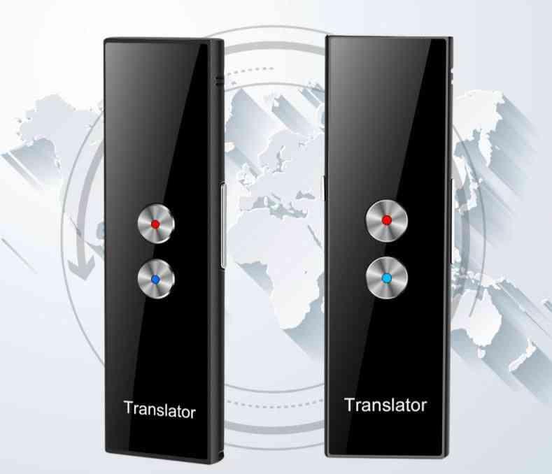 Portable Mini Bluetooth Wireless Smart Translator For 68 Languages