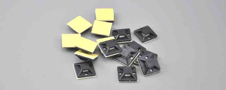 100pcs Self-adhesive Cable Tie-mounts