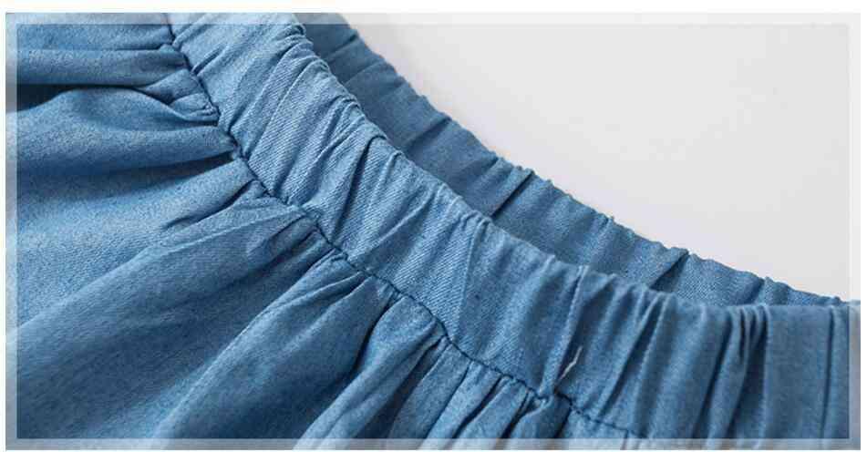 Summer Baby Girl Clothes, Animal Rainbow Cotton Mini Skirts
