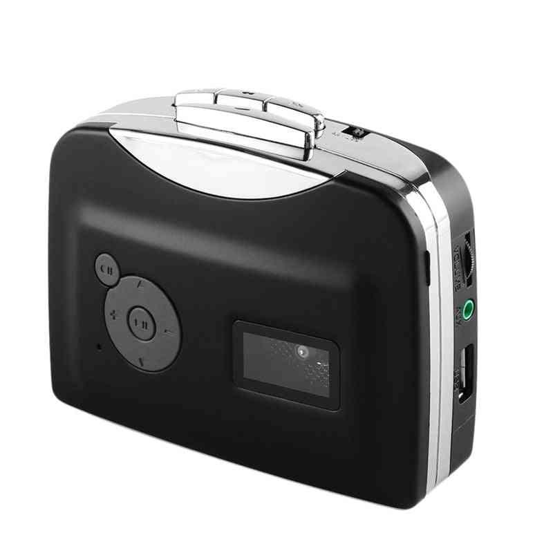 Cassette Player Tape To Usb Flash Drive Mp3 Format- Capture Converter Walkman
