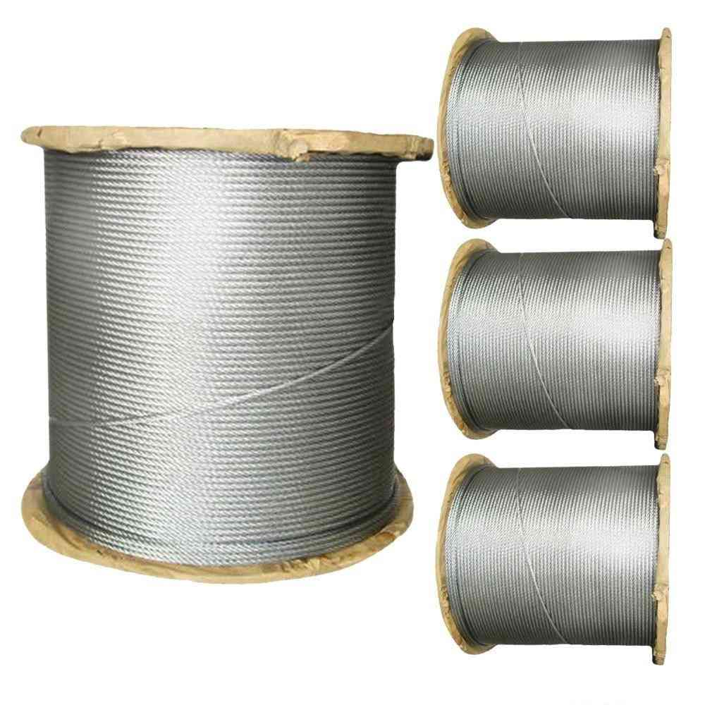 Marine Grade Stainless Steel Wire Rope Cable Structure