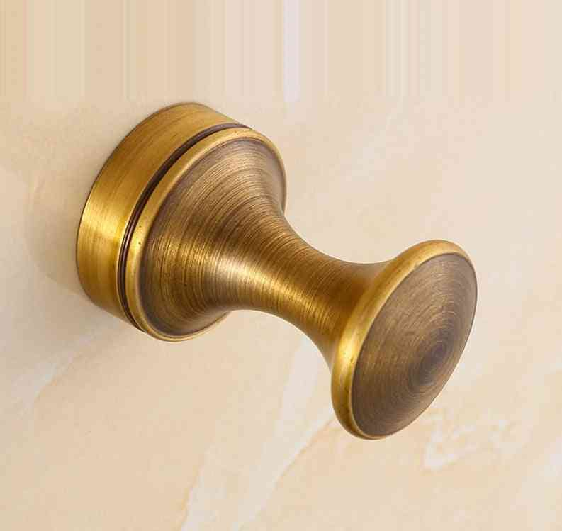 Vintage Brass Wall Clothes/accessories Hook