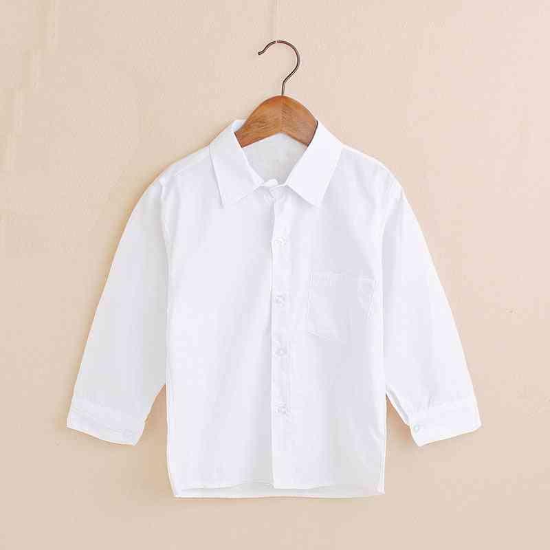 Plain White Baby Shirts ,children Clothes Classic Tops