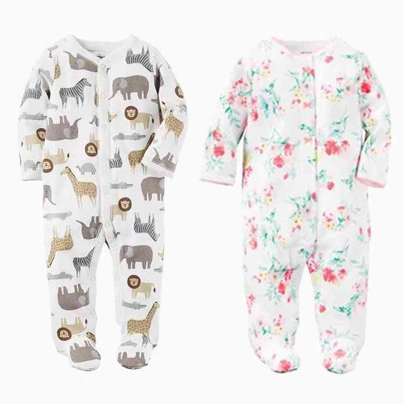 Baby Blanket Sleepers, Newborn Sleepwear, Infant Long Sleeve Pajamas
