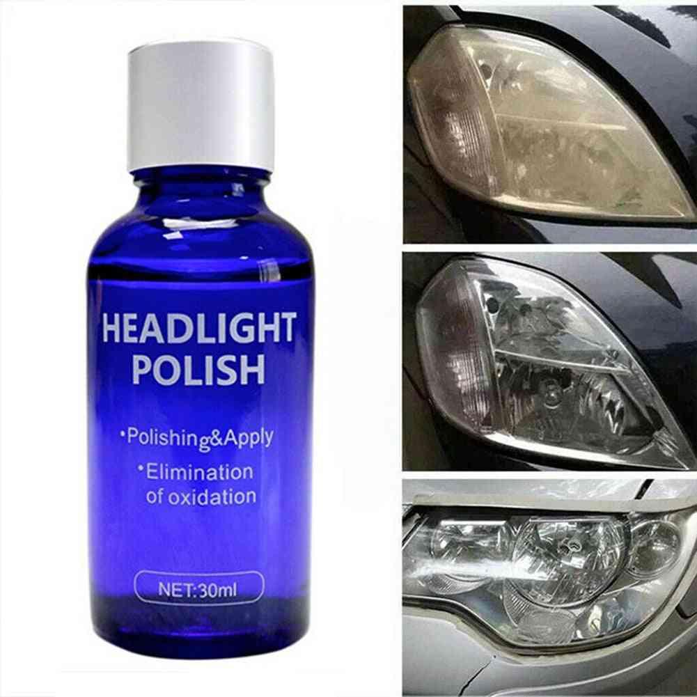 High Density Headlight Polish Liquid Kit For Cars
