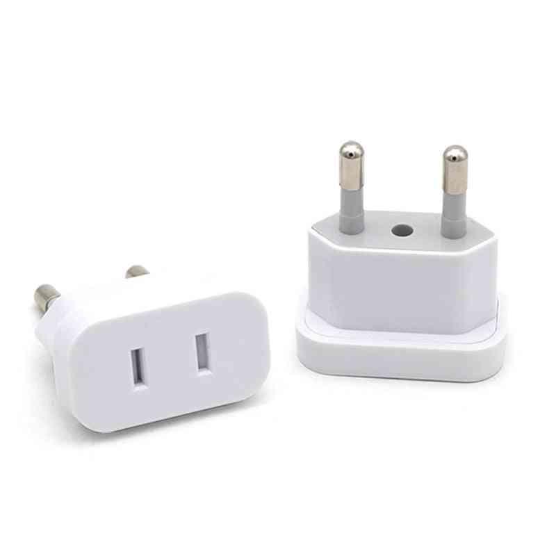 Euro Converter Plug Us To Eu - Power Socket Adapter