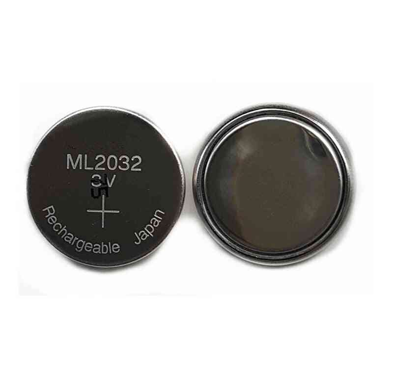 Original  Ml2032 3v Rechargeable Lithium Battery