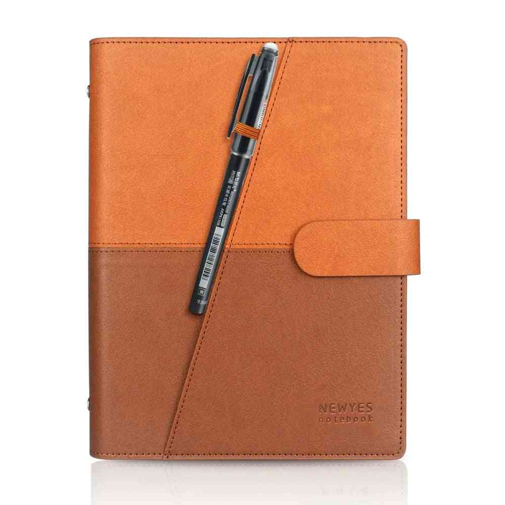 Reusable, Erasable, Smart Wire Bound Leather - .works With Camscanner App