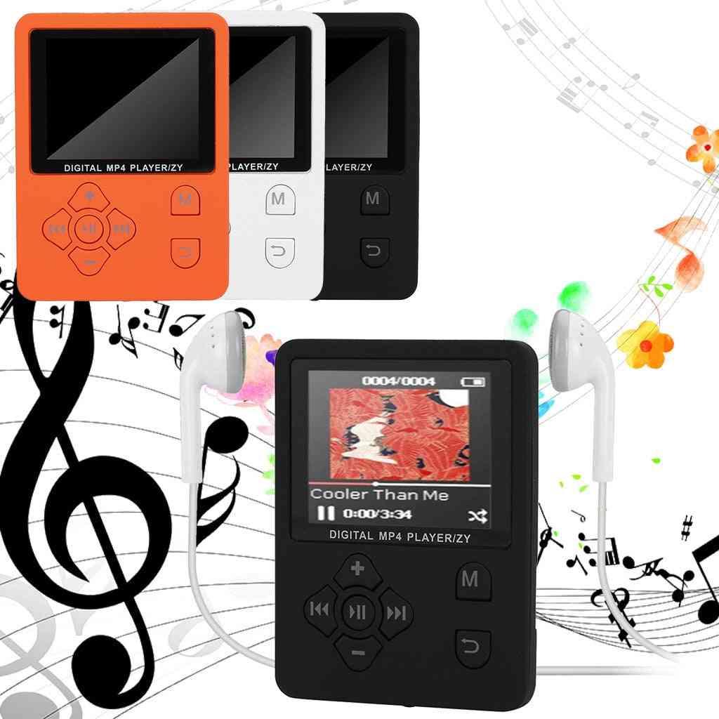 Portable Mp3 Mp4 Music Player -color Screen Fm Radio Recorder Video Movie