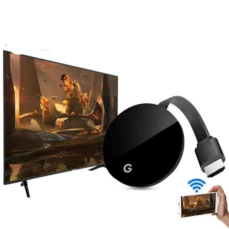 2-in1 Wifi Display Dongle- Tv Stick Full 1080p Chromecast Compatible