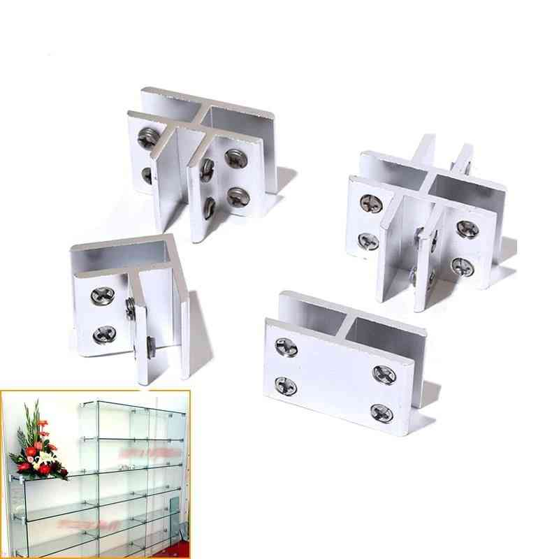 Acrylic Showcase Clips, Connector For Glass ,without Drilling Hardware