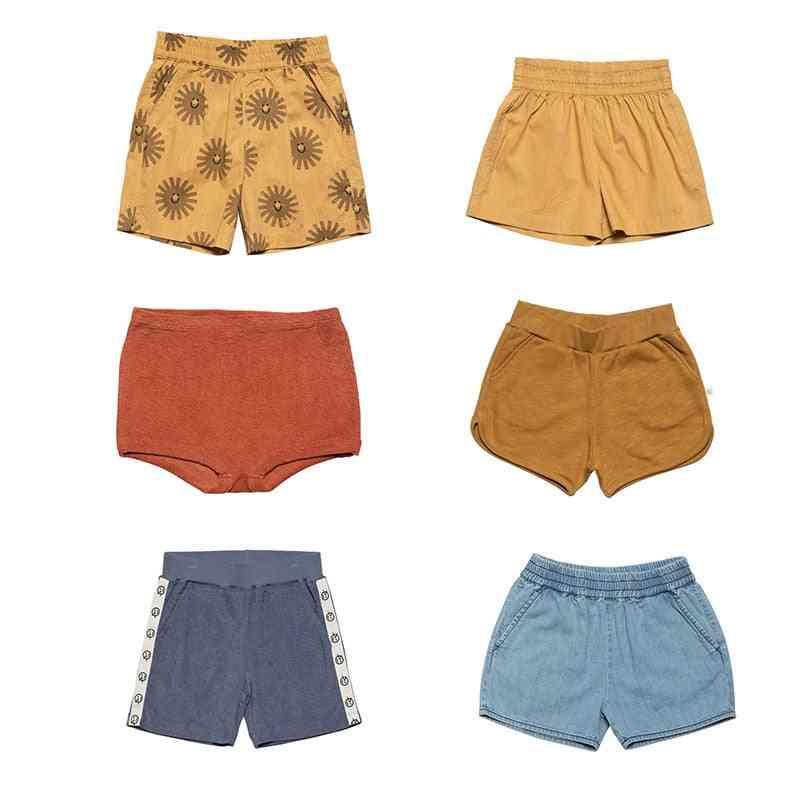 Kids Summer Printed Top And Shorts