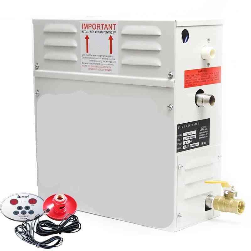 3kw/4.5kw Steam Generator Sauna Steam Bath Machine, 220v/380v With Digital Controller