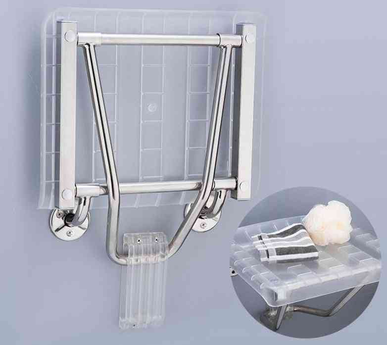 Wall Mounted Shower Seats, Abs Plastic And Stainless Steel Bath Bench Chairs