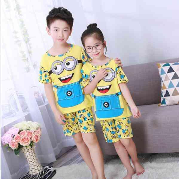 Baby Girl & Boy Pajamas Set - Short Sleeve (set-2)