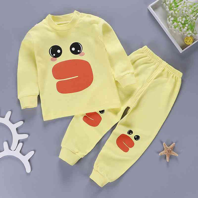 Baby Cotton Long Sleeved T-shirt & Pant For / Set