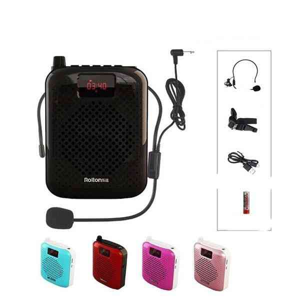 Bluetooth Portable K500 High Power Speakers Megaphone With Wired Headset