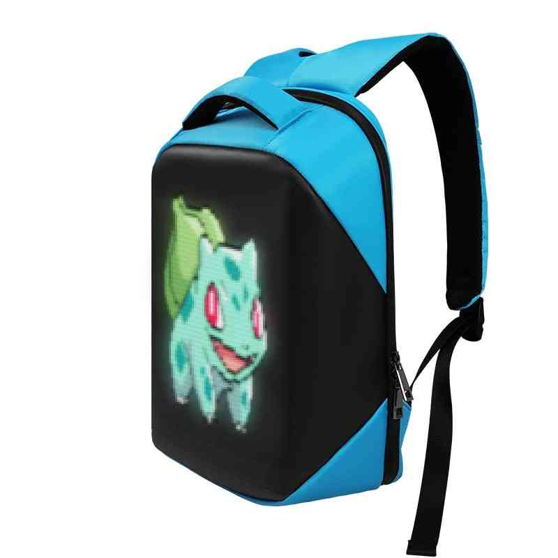 Third Generation Wireless Wifi Version App Control Advertising Led Backpack