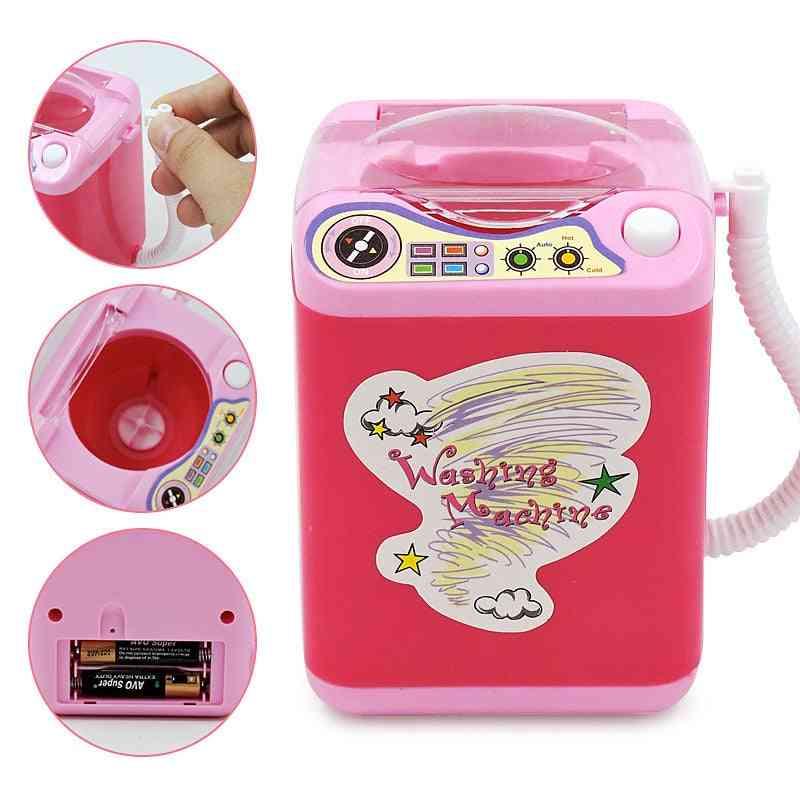 Mini Makeup Brush Washing Machine Electric's Pretend Toy