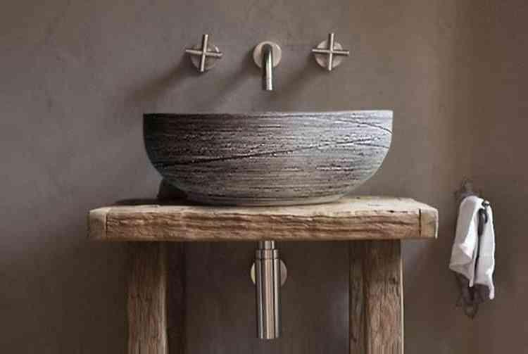 Ceramic Vessel Imitation Stone -washing Basin Bowl Sink