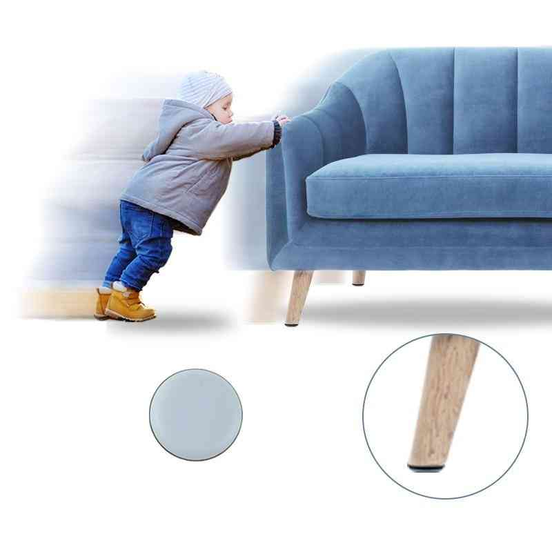 Magic Floor Protector For  Chair Pad -round Easy Sliders Glides