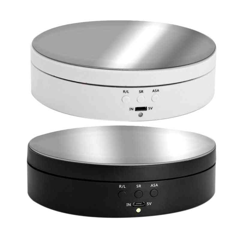 Speeds Electric Rotating Display Stand Mirror, Turntable Jewelry Holder