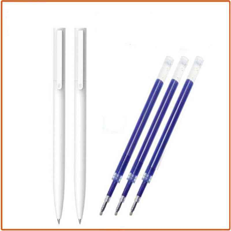 0.5mm Writing Point Gel Pen -no Cap With Refill (145*10*13.8mm)