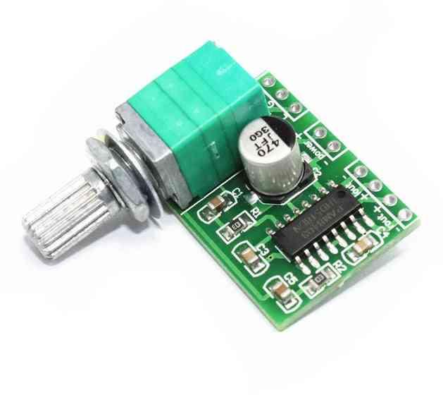 Pam8403 Mini Digital Power Amplifier Board With Potentiometer