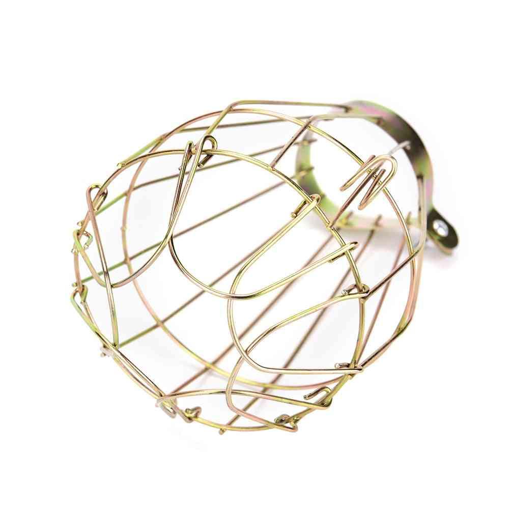 Retro Vintage Style Metal Bulb Cage Guard