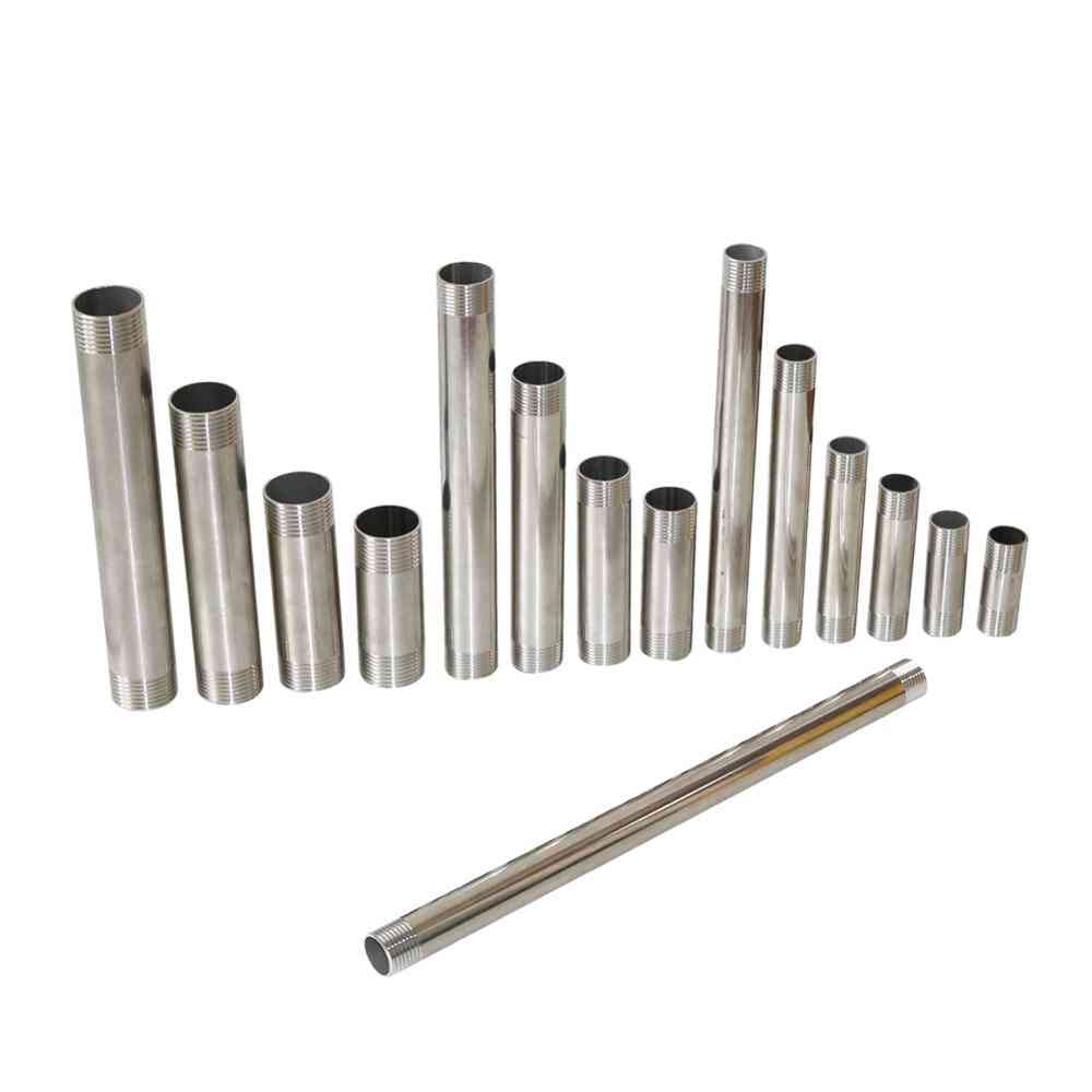 Steel Male Threaded Pipe Connector, Shower Rod  Adapter
