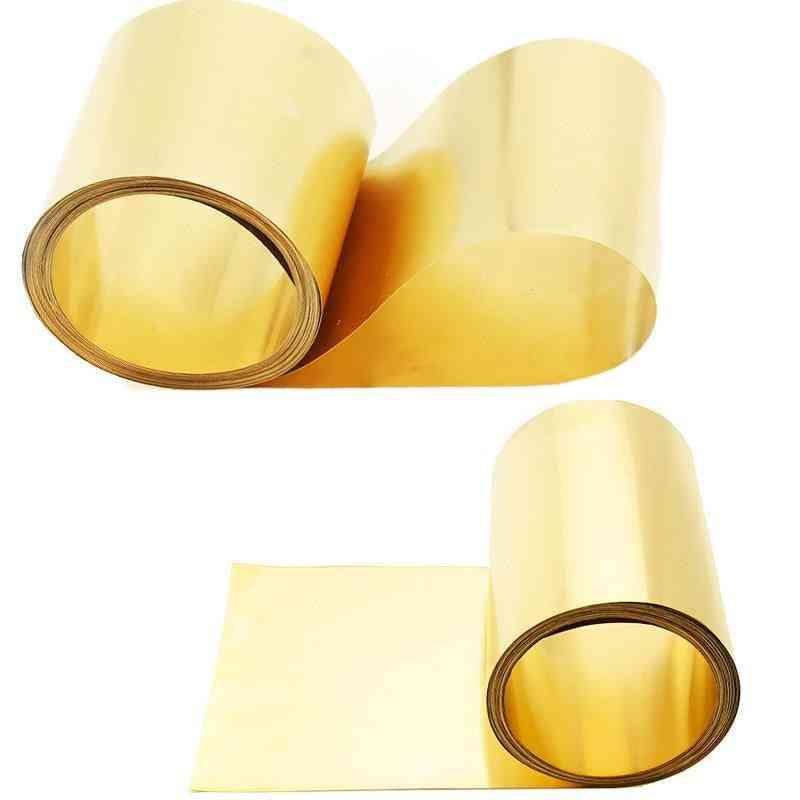 High Purity Thin Brass Foil Sheet