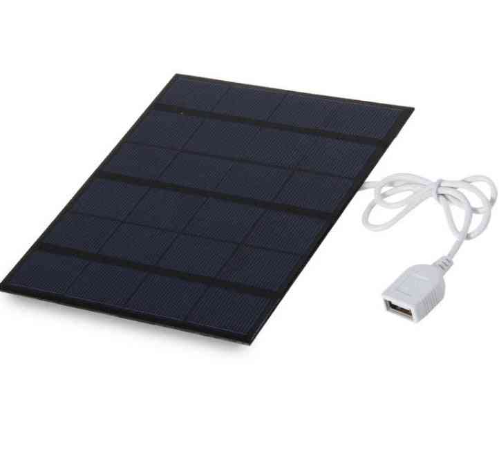 3.5w Usb Solar Panel Digital Charger For Mobile