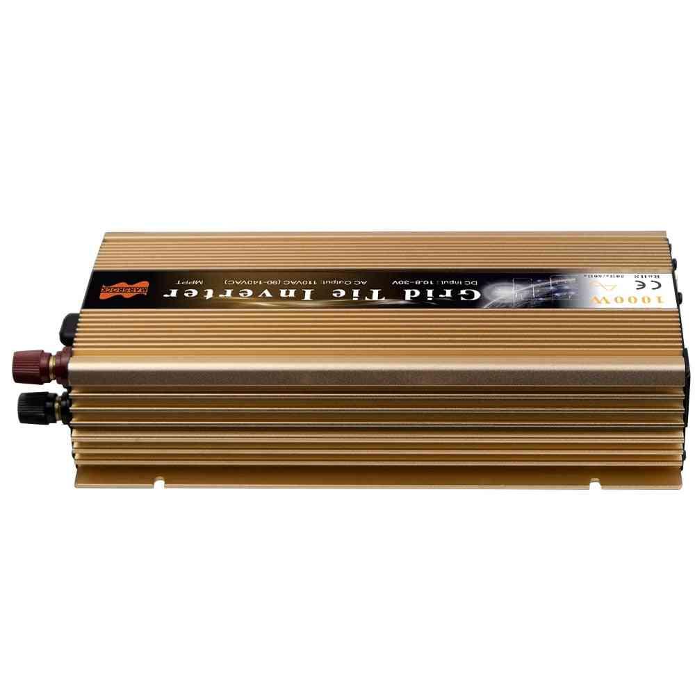 1000w Solar Inverter, On-grid Tie 12/18/24/36v To 110/220v Power Convertder