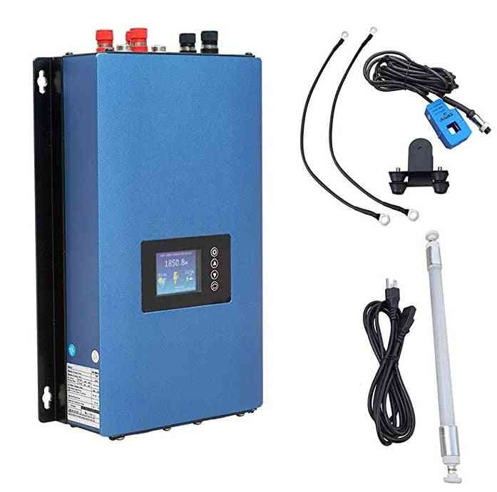 1000w Grid Tie 3 Phrase Wind Power Microinverter, Pure Sine Wave With Limiter