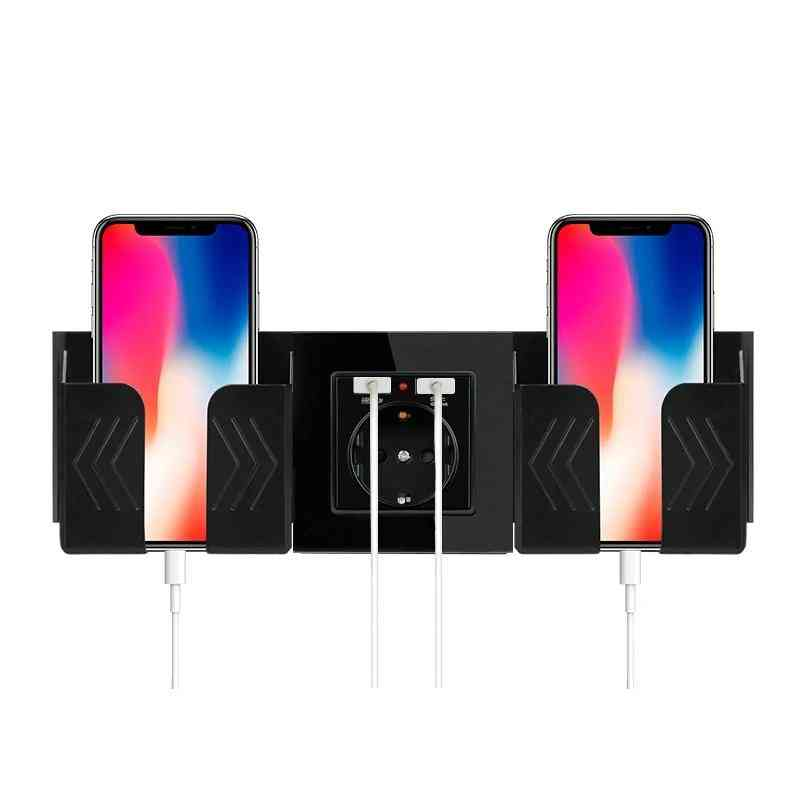 Wall Socket Mobile One & Two Phone Holder