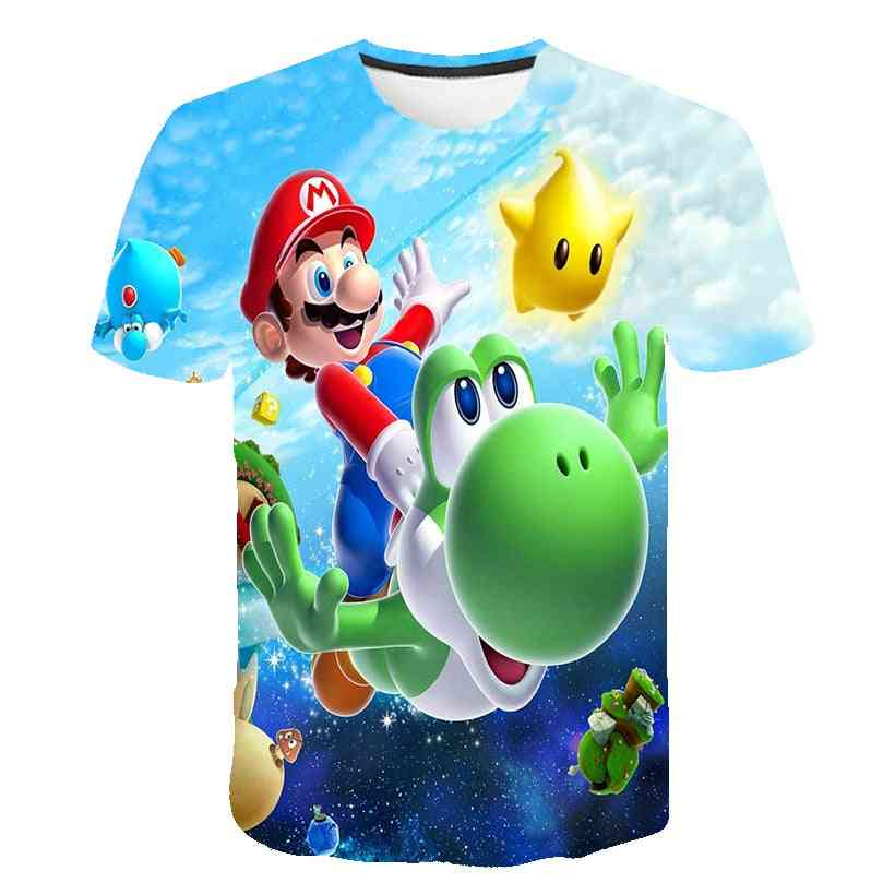 Classic Game 3d Printed T Shirt - Summer Clothes