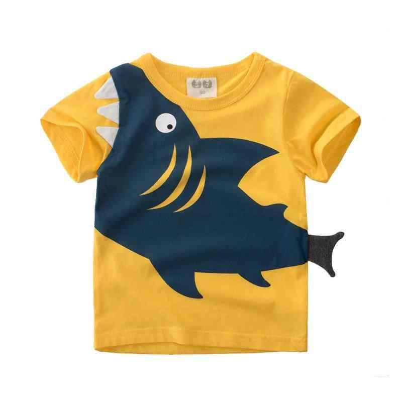 Baby Shark Pattern T-shirt For &
