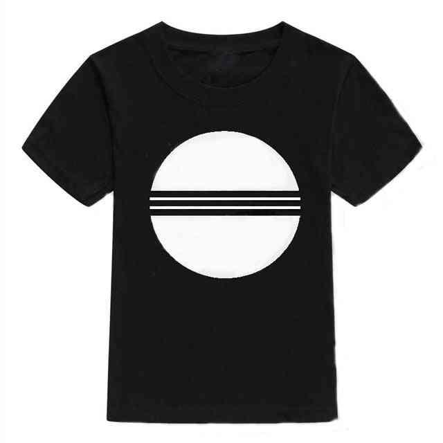 Summer Short Sleeve T-shirt For Boy & Set-2