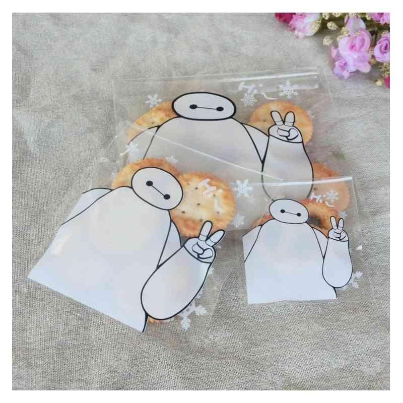 Cute Boy Cookie Packaging Self-adhesive Bag
