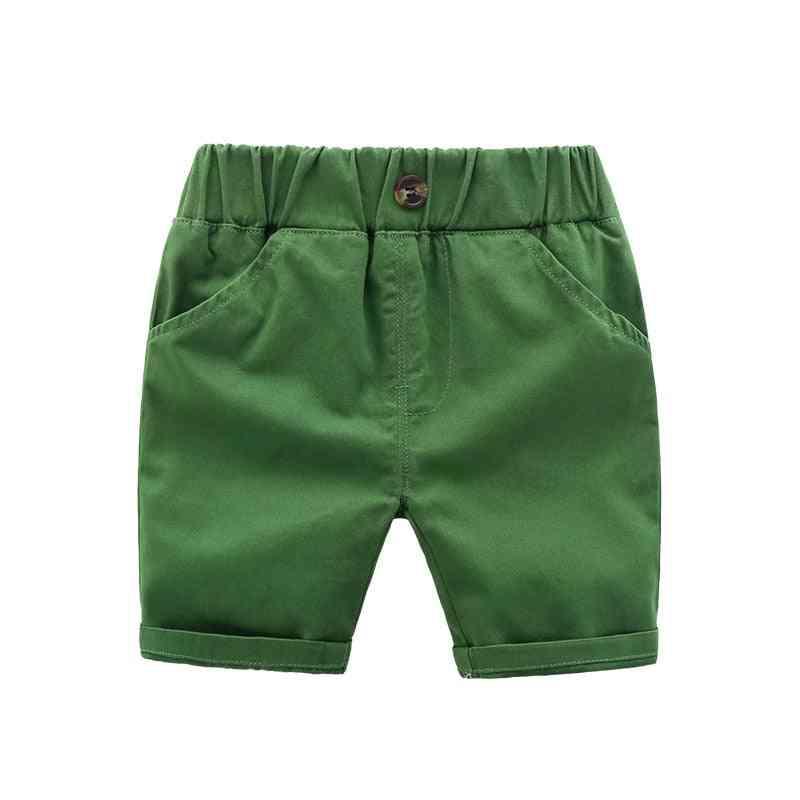Kids Casual Pants-summer Cotton Shorts
