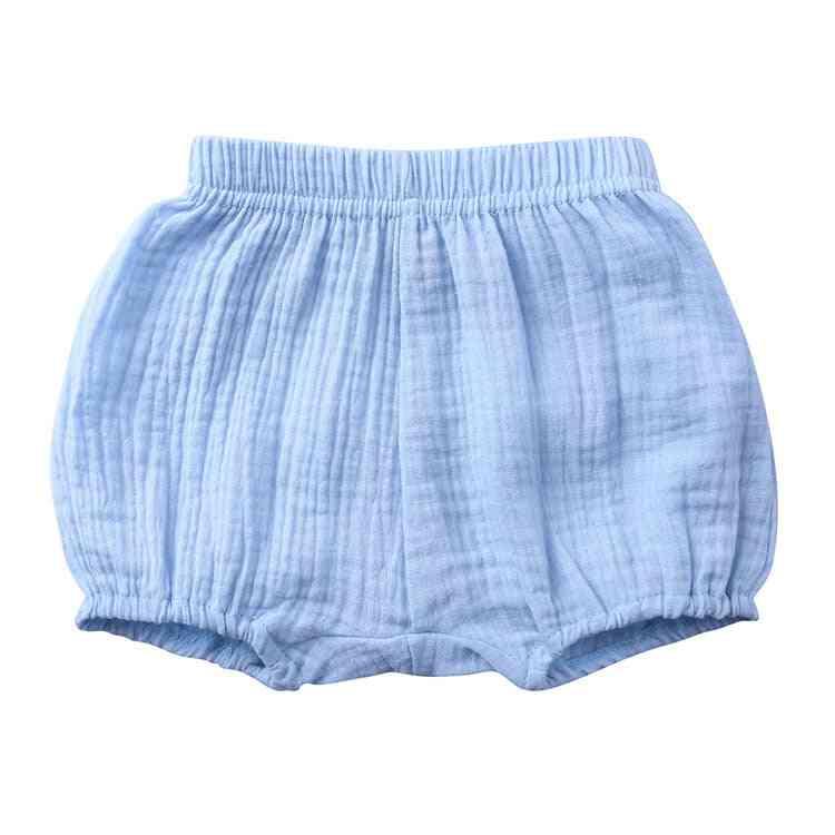 Summer / Girl Shorts, Cotton Linen Bread Short Pants