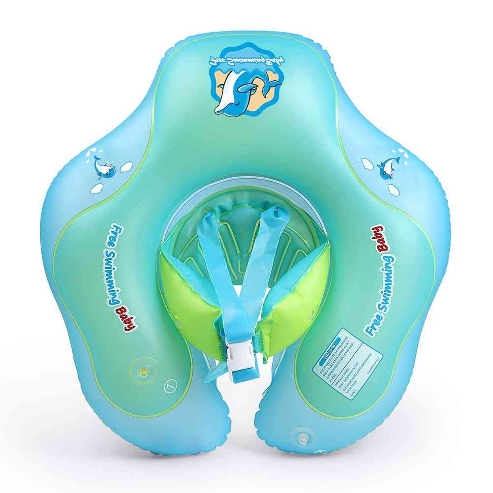Inflatable Floating Kids Swim Pool, Circle Bathing Double Raft Rings Toy