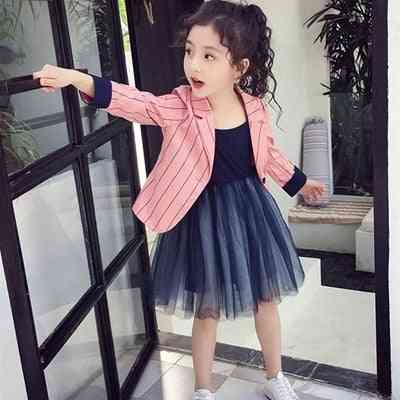 Spring & Autumn Baby Girl Jakcets, Outwear Coat Cotton Clothing
