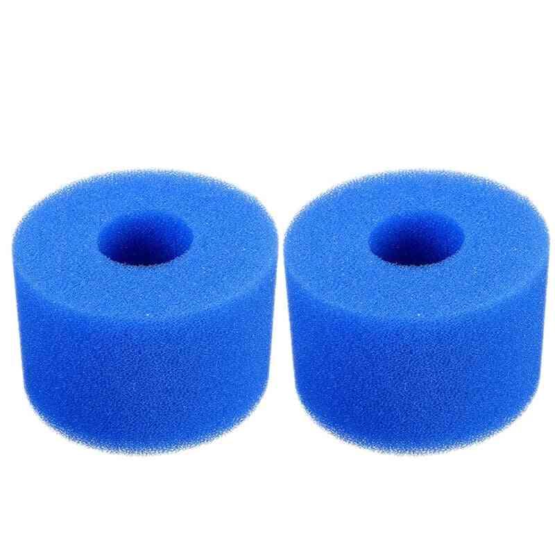 Pure Spa Reusable Washable Foam Tub Filter Cartridge